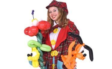 De Schmink Clown Verzorgt Luxe Kinderschminken